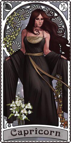 Zodiac Art Show - Capricorn by giorgiobaroni.deviantart.com on @deviantART