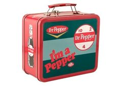 Dr. Pepper lunch box