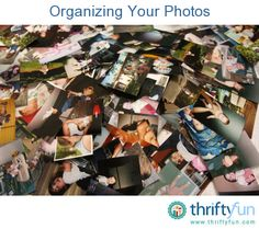 This is a guide to organizing your photos. There are a number of methods for organizing photos. No matter how you decide to setup your system of storing photos, the important part is that you can find the image you want when you want it.