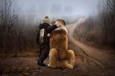 Russische, Fotografin, Magische, Porträts, Kindern, Tieren, Freunde