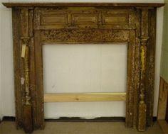 1908 Fireplace Mantel