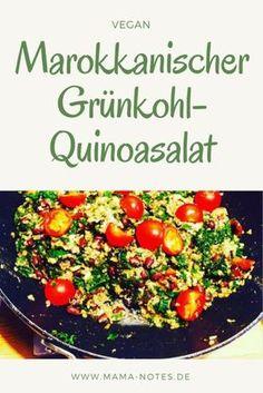 Marokkanischer warmer Grünkohl-Quinoa Salat