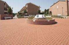 #Piazza comunale a Rosa di Terricciola in provincia di #Pisa