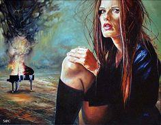 Amazing Paintings by Wlodzimierz Kuklinski Amazing Paintings, Your Paintings, Grunge Art, User Profile, Female Art, Fairy Tales, Mona Lisa, Deviantart, Gallery