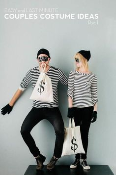 halloween costumes women - 10 Coolest DIY Halloween Couples Costumes - Part 2 -