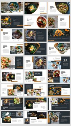 Food And Drink Photography - - Food And Drink Main Dishes - Layout Design, Graphisches Design, Slide Design, Poster Design, Poster Layout, Graphic Design Posters, Book Layout, Cookbook Design, Food Menu Design