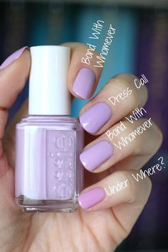 Essie Spring 2013 Madison Ave-Hue Collection : Swatches & Comparisons | Essie Envy