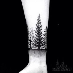 Wood tatoo
