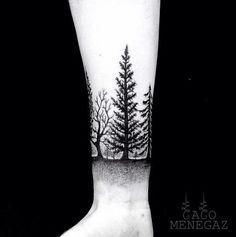 Wood tatoo