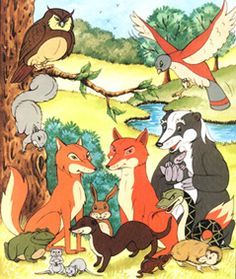 the animals of farthing wood - Google Search