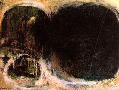 Sem Título 1959 | Tomie Ohtake óleo sobre tela 59.00 x 83.00 cm