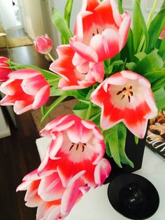 #flowers are a must in our studio