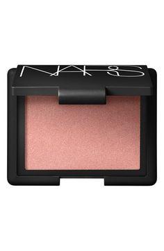 NARS Blush- Orgasm... My most favorite blush. Looks great on any skin tone!