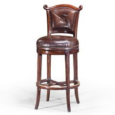 Theodore Alexander Seating Arched Back Barolo Bar Chair Bar Chairs, Bar Stools, Bars For Home, Theodore Alexander, Counter, Furniture, Home Decor, House, Ideas