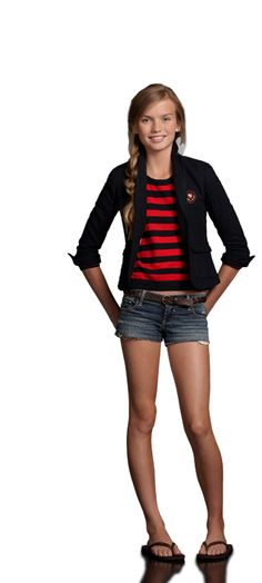 abercrombie kids - Shop Official Site - girls - A Looks - summer - just a little crush