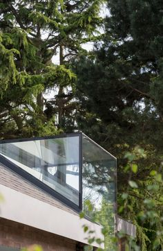 glass dormer for loft extension by Syte Architects Loft Conversion Doors, Loft Conversions, Kitchen Orangery, Glass House Design, Flat Roof House, Mansard Roof, Glass Extension, Loft Spaces, Loft Apartments