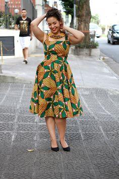 Tecidos africanos e a nova coleção da Afer / African dress