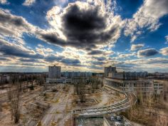 """Chernobyl is a more lively place than you might imagine: Nowadays it is repopulated with 500 people, many of them scientists,"" wrote photgrapher Timm Suess after his trip in March 2009."
