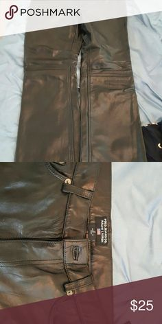 Spotted while shopping on Poshmark: Ralph Lauren leather pants! #poshmark #fashion #shopping #style #Ralph Lauren #Pants