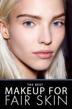Porcelain Dolls: Fair Skin Makeup Tips | More Fair skin makeup ideas