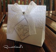 Scatolina per bomboniera di Matrimonio con iniziali degli Sposi by Romanticards, by Romanticards e Little Rose Handmade, 1,00 € su misshobby.com