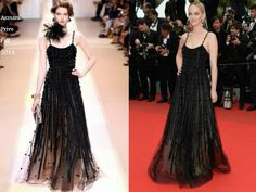 Jess Weixler In Armani Prive - 'Foxcatcher' Cannes Film Festival Premiere. Re-tweet and favorite it here: https://twitter.com/MyFashBlog/status/468527974002601984/photo/1