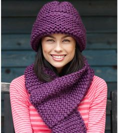 Beginner Hat and Scarf