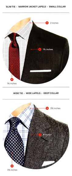 tie to shirt guide. good to know