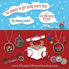 The holidays are here! The best gifts come in small packages, so tell their story with the #myjourneylocket.