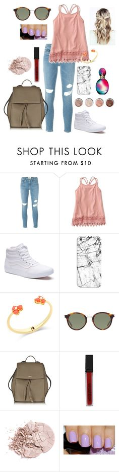 """3 Weeks Left of School"" by mia-opsahl3 ❤ liked on Polyvore featuring Frame Denim, Vans, Casetify, Kate Spade, Yves Saint Laurent, DKNY, Terre Mère, Smashbox and Missoni"