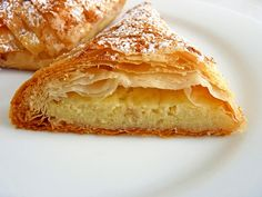 Vanilla Custard in Phyllo