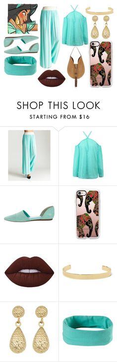 """""""Modern Day Jasmine"""" by elizz-denne ❤ liked on Polyvore featuring Jenni Kayne, Casetify, Lime Crime, Jennifer Fisher, Fremada, prAna, Altuzarra and modern"""