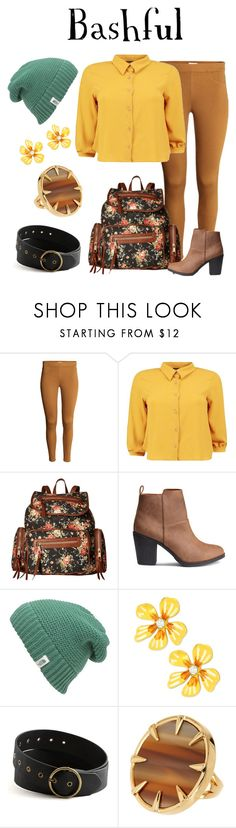 """Bashful"" by waywardfandoms ❤ liked on Polyvore featuring Boohoo, Gabriella Rocha, The North Face, Betsey Johnson, Vince Camuto, casual, disney and disneybound"