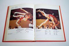 1976 Montréal Olympics Album. Designed by Georges Huel and Pierre-Yves Pelletier