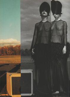 "dustulator: "" Provocatyves shot by Steven Klein for Dutch magazine no.13 """