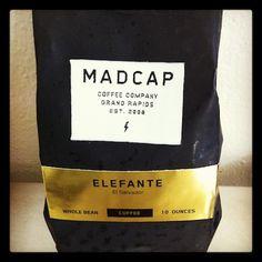 The Coffee    Beans: Elefante  Roaster: MadCap Coffee Company