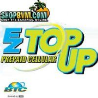 BTC Ez Top UP  Top up your BTC Prepaid phone with Ez Top UP. From as little as $5 to $99 you can add minutes to you or anyone's mobile phone. Simply place an order and submit the number you would like to send the minutes to.