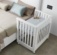 Постельное белье в приставные кроватки для новорожденных