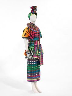 Bush Couture, Linda Jackson, Maasai Africa, 1982-88. National Gallery of Victoria.