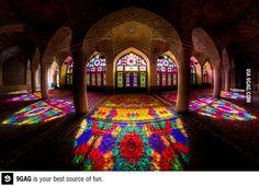 A beautiful Mosque in Iran