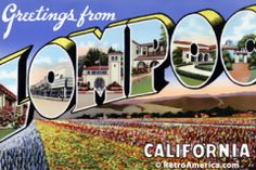 Greetings from Lompoc California