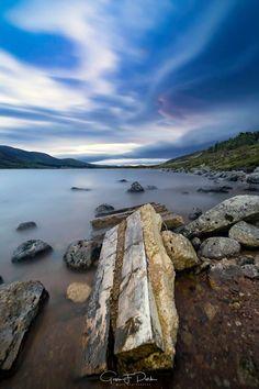 Loch Muick on the Balmoral Estate, Scotland.
