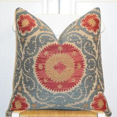 Beautiful Decorative Pillow Cover  20 x 20  by TurquoiseTumbleweed, $52.00
