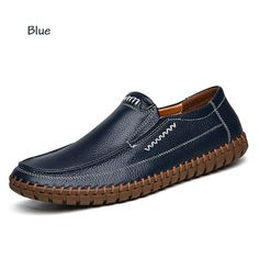 BIMUDUIYU Handmade Real Leather Men Shoes Genuine Leather Slip On Causal Shoes Breathable Loafers Mens Moccasins Shoes Big Size Outfit Accessories From Touchy Style Mens Brown Casual Shoes, Casual Loafers, Loafers Men, Men Casual, Casual Sneakers, Best Shoes For Men, Shoes Men, Men's Shoes, Dress Shoes