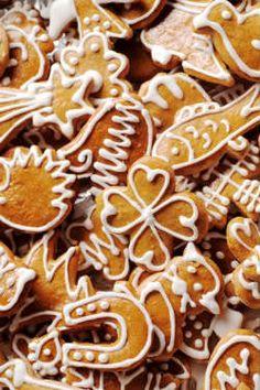Biscoitos de gengibre                                                                                                                                                     Mais