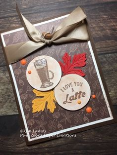 I don't know about you but, coffee is good anytime of the year. I want to share a card with you today that is for someone I love who lo...