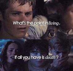 What is the point of living, if all you have is death?
