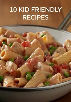 You'll please the whole family with these easy dinner ideas. Our kid-friendly recipes are delicious and simple to prepare.