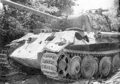 Wrecked Panther ausf. G