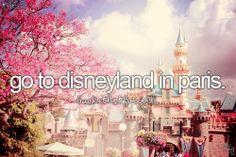 Go to Disneyland Paris / Bucket List Ideas / Before I Die Disneyland Paris, Disneyland Castle, Disneyland California, Disneyworld Food, Disneyland Tips, Bucket List For Girls, Bucket List Before I Die, Big Bucket, Disney Land